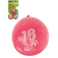 Ballonnen cijfer 18
