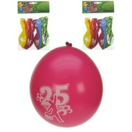 Leeftijd ballonnen 25 jaar