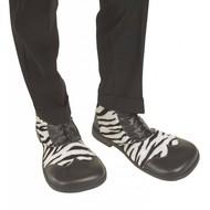 Carnavalsspullen: Party schoenen zebra