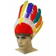 Carnaval- & feest accessoires: Indianentooi