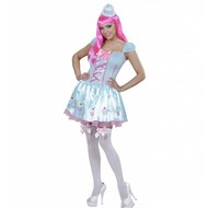 Carnavalskostuum snoepmeisje Lieve