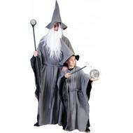 Grijze tovenaarspakken voor kinderen