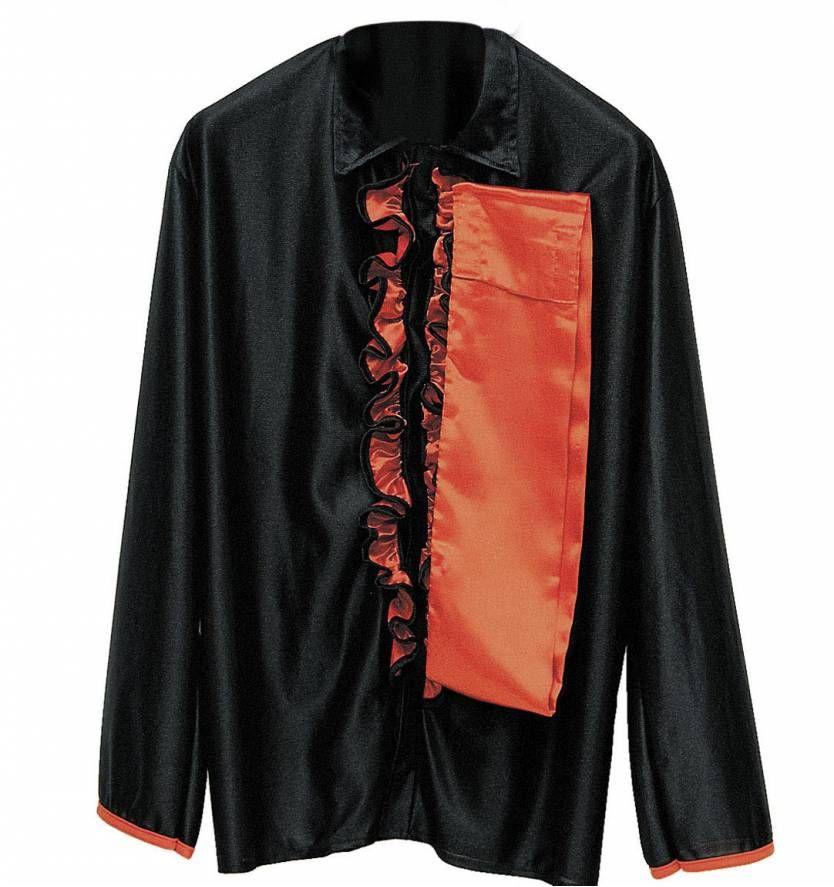 Carnavalspak flamenco shirt met rood en zwart voor mannen - Eetkamer rood en zwart ...