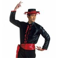 Carnavalspak Flamenco shirt