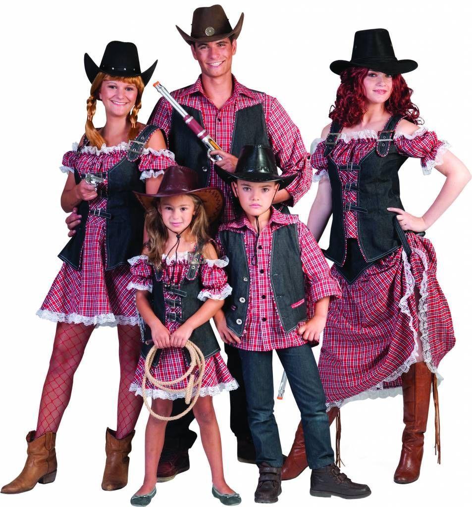 Cowboy meisjes jurkje Patty