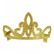 Carnavalsartikelen Tiara Jill in goud