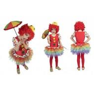 Clown jurkje meisje