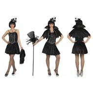 Heksen jurk Spinnenweb dame Angela