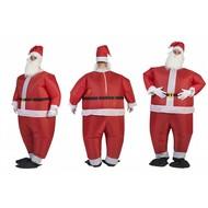 Opblaasbaar Kerstman pak Santa