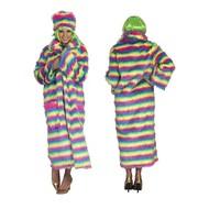 Verkleed jas in regenboog kleuren