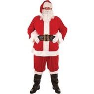 Deluxe kerstman pak 8delig