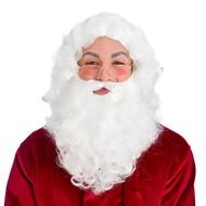 Deluxe kerstman baard