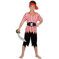 Piraat van de zee pak kind