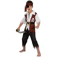 Compleet piraten pak kind