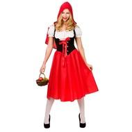 Luxe Roodkapje pakje voor dames