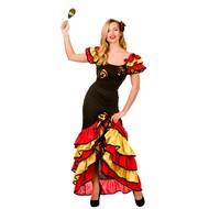 Spaanse Samba danseres kostuum