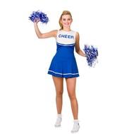 Hoge School Cheerleader jurkje in blauw