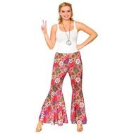 Disco hippie broek voor dames