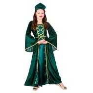 Middeleeuwse prinsessen jurk Corne