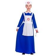 Victoriaanse verpleegster jurk voor meisjes