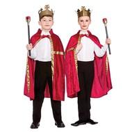 Koningsmantel rood voor kinderen