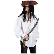 Piraten shirt wit
