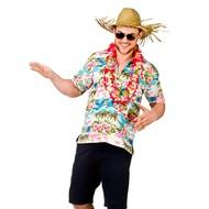 Hawaii Shirt met palmbomen