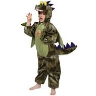 Groen dinosaurus pak
