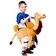 Gedragen door kameel (kind)