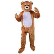 Teddybeer pak mascotte