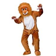 Leeuwen pak mascotte