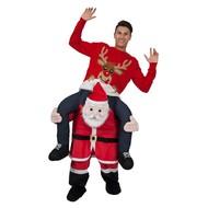 Gedragen door kerstman luxe