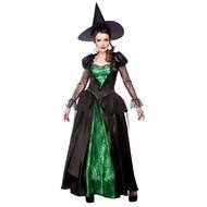 Heksen koningin jurk
