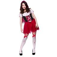 Zombie Roodkapje jurk