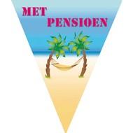 Vlaggenlijn met pensioen 5m