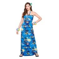 Hawaii jurkje blauwe palmbomen lang