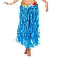 Hawaii rokje blauw 80cm