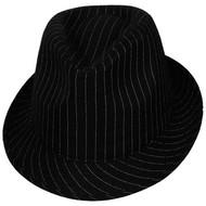 Gangster hoed met streepje