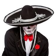 Zwarte sombrero day of death
