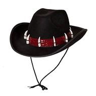 Cowboyhoed met haaientanden