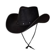Texaanse cowboyhoed zwart