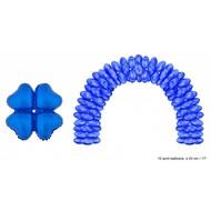 Ballonboog folieballonnen hart Blauw