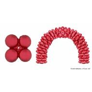 Grote ballonboog folieballonen Rood