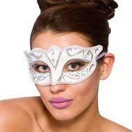 Oogmasker Verona wit