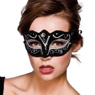 Oogmasker Florence zwart
