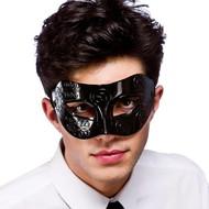Oogmasker Rome in zwart