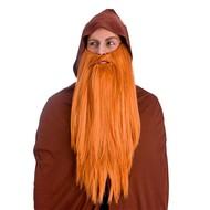 Gemberkleurige extra lange baard