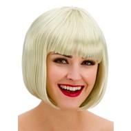 Pruik Diva boblijn blond
