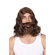 Pruik en baard Jezus van Nazareth