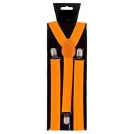 Neon oranje bretels verstelbaar